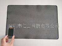 黑色硅膠防滑墊、黑色無痕耐高溫止滑墊