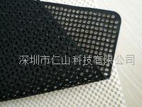 黑色硅膠防滑墊、黑色無痕防滑墊 LCM用硅膠防滑墊、耐高溫硅膠防滑墊、供應潔凈不留痕防滑墊、無印硅膠防滑墊
