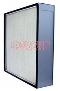 有隔板铝框高效空气过滤器 各种规格有隔板高效空气过滤器 铝框高效空气过滤器生产厂家安装及检测