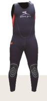 5毫米分體式潛水濕衣(連體下衣) Manta Long John 5mm