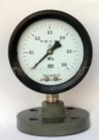 厂家优惠供应防腐隔膜全塑压力表,防腐压力表 YTP