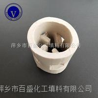 萍鄉百盛開孔環型填料陶瓷鮑爾環 25-76MM