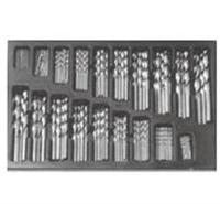 德国哈沃奇170 件套装高速钢全磨制麻花钻头  KT6-153-514