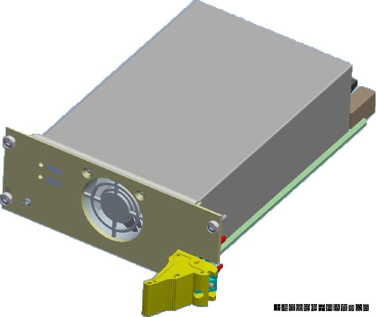 600W,AC/DC模塊化3U10HP寬溫風冷VPX電源,符合VITA 62.0及OpenVPX標準