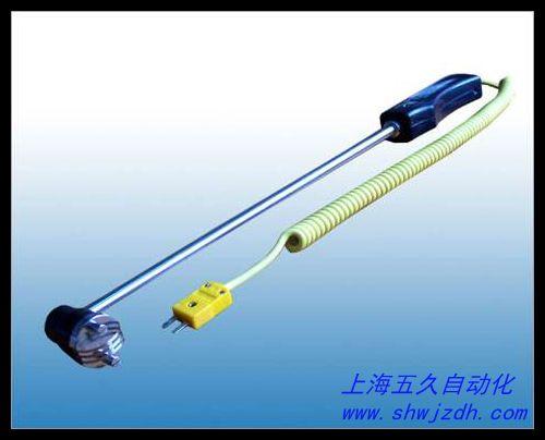 4*30mm热电偶 K型 温度传感器 不锈钢表面探头 温控测温线