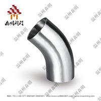 45°加長焊接式彎頭 SM0211005