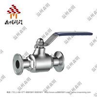 不鏽鋼直通球閥(卡箍球閥)-衛生級 SMZTQF