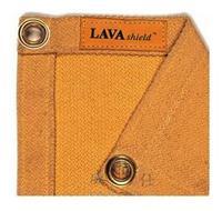 威特仕焊接劳保用品 金黄色玻璃纤维烧焊防护毯 50-3066
