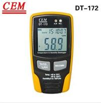 CEM華盛昌DT-172 溫濕度記錄儀 新價格|參數|規格|資料