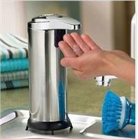 不锈钢自动感应给皂器 自动感应给皂器  自动皂液器 给皂器 BX8101G