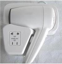 巴謝特酒店KTV 掛壁式吹風機 浴室掛墻電吹風 賓館式電吹風機 美發器 干發器 BXT01G