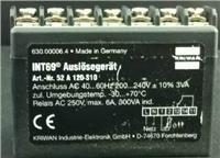 INT69 德国克瑞万KRIWAN保护模块  汉钟复盛压缩机保护器专用保护器 52A120S10