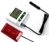 External probe sound-light alarm temperature & humidity data logger WS-TH23AC2