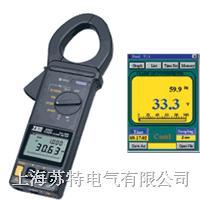 TES-3063/3064數字鉤式功率表與RS-232窗口接口