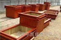 防腐木木箱 订做加工各种规格尺寸