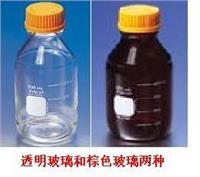康寧橙蓋棕色試劑瓶 51395-500