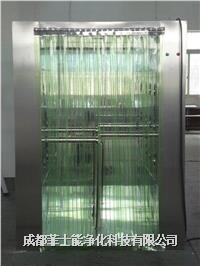 pvc條簾門通道式貨淋室 1700x2000x2200