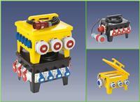 24位移動式防水插座箱