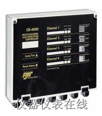四通道气体监测报警控制器 CR4000