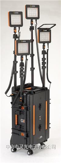 靈光XC6-16WS×4便攜式移動照明系統 LED燈 工程燈 升降燈 應急燈