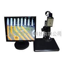 工业检测视频数码电子显微镜 VGA工业相机 SZ7D显微镜+200万VGA工业相机+17寸液晶显示器