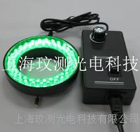 内径60MM显微镜绿光LED环形光源灯源 WC-60L