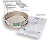 標準篩|藥典篩(保證送檢合格帶證書) 直徑:200mm 8英寸
