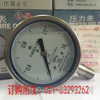YE100B不銹鋼膜盒壓力表 YE100BF