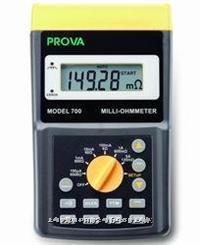 PROVA700/710歐姆表