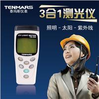 TM-208 記憶式照度/太陽功率/紫外線三合一測試儀