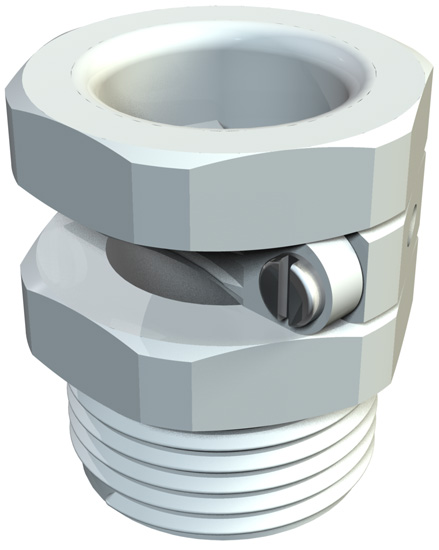 Pressure screw, PG strain relief
