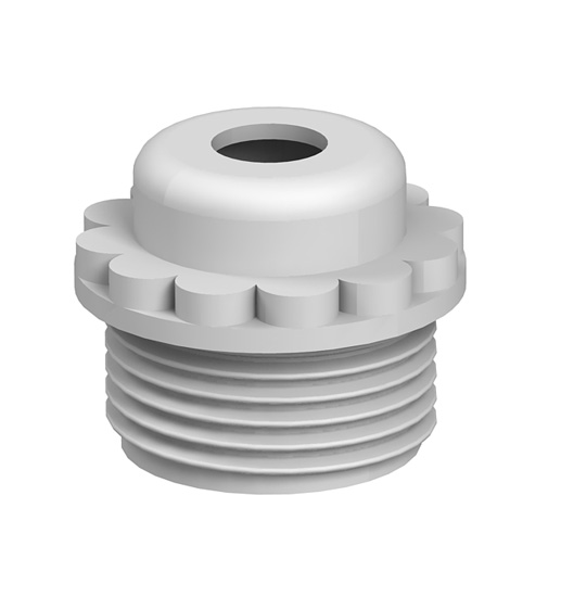 Screw-in nipple, PG thread with opening
