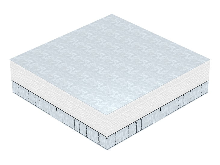 Basic box 350 with screed protection cover
