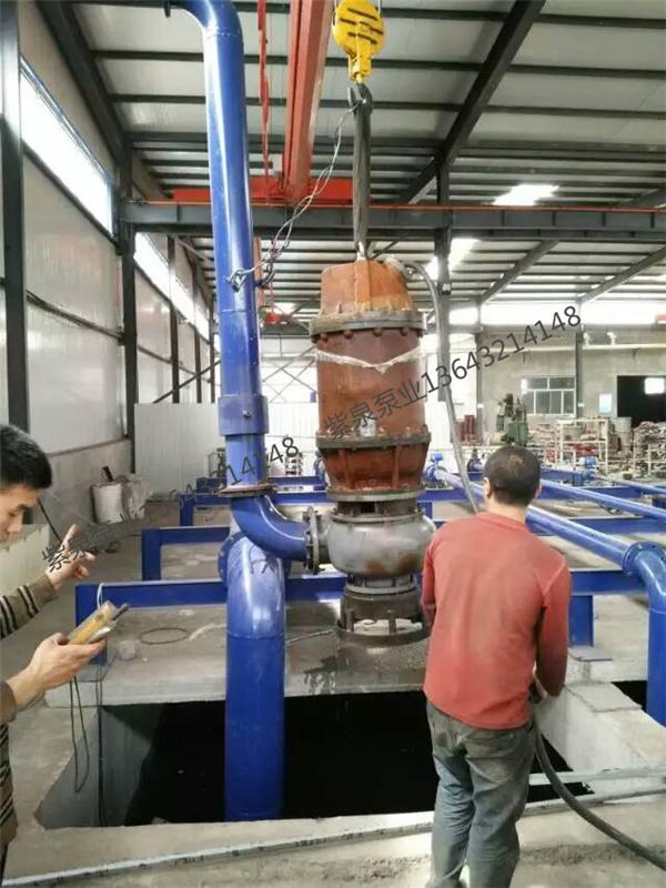 搅拌潜水渣浆泵选型