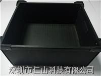 中空板箱,防靜電中空板箱配刀卡 供應防靜電中空板箱、中空板箱尺寸、黑色中空板箱
