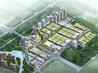 (環境景觀)公共空間園林景觀設計—湖南湘西北汽貿城
