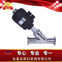 衛生級氣動角座閥 Y615W