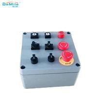 多孔开关控制按钮盒LV铸铝盒