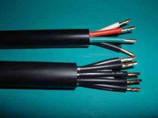 长期批发电器设备用线 信号线 控制防水监控信号电源护套线