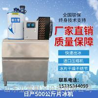 德兰雪500公斤商用片冰机