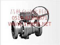 气动固定式球阀 Q647F-10     Q647F-16    Q647F-10,Q647F-16