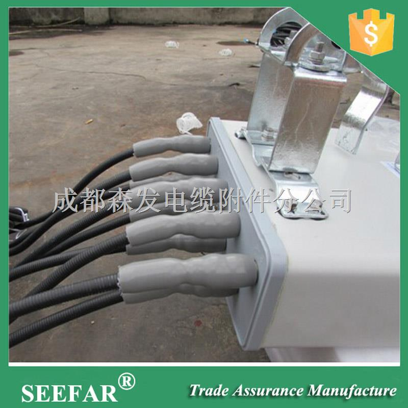 硅橡膠4G網絡通訊用饋線電纜冷縮管