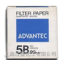 ADVANTEC 5B 滤纸 FILTER PAPER FILTER PAPER QUANTITATIVE ASHLESS  ADVANTE 5B