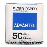 ADVANTEC 5C FILTER PAPER 5C 110mm QUANTITATIVE ASHLESS