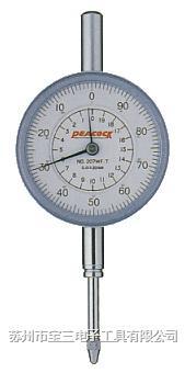 207F-T日本孔雀牌PEACOCK牌针盘式百分表
