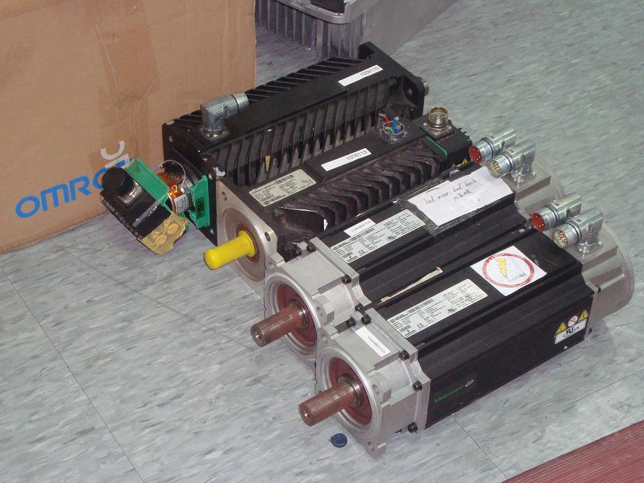 维修进口伺服电机