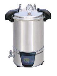 上海汗诺供应手提式18L不锈钢蒸汽灭菌器SYQ-DSX-280B SYQ-DSX-280B