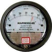 D2000-100pa指针差压表/微压差表 /空气差压计/压差计/风压仪