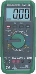 DY2104机械保护式数字万用表 DY2104