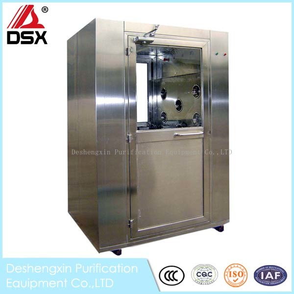 Stainless steel Tunnel air shower  booth